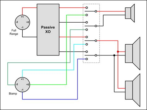 two pole bi ing speakers wiring diagrams wiring