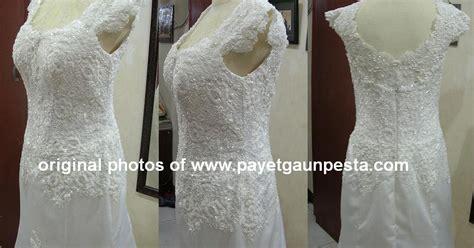Kebaya Pengantin Duyung payet gaun pesta desain baju pesta kebaya modern dan