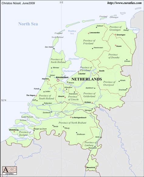 netherlands maps netherlands map printable