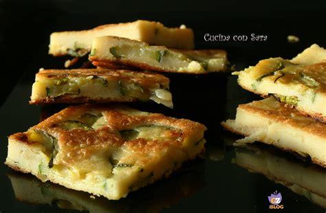 cosa cucinare con le zucchine frittata di ceci con zucchine cucina con