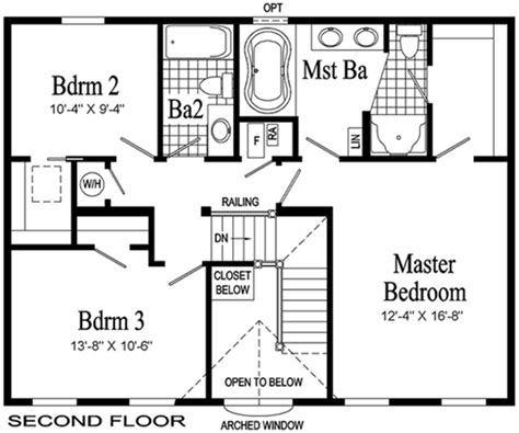 second story floor plans providence two story modular home pennwest homes model