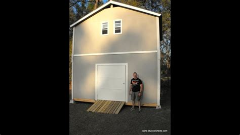 story shedcabinbarn assembled   day prefab elements
