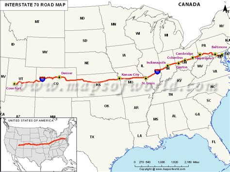 us highway map i 80 us interstate 70 i 70 map cove fort utah to baltimore