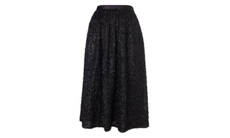 Cecil Sweet Sw cecil sparkle skirt black whistles