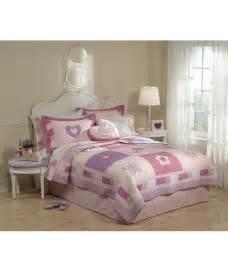 pem america pink quilt set pem america purple pink hearts quilt set zulily