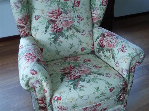 engelse fauteuil stof herstoffering engelse fauteuil doelbeek