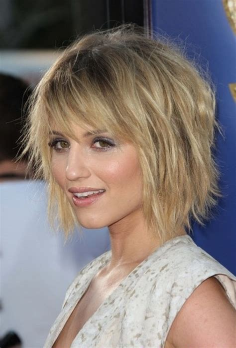 how to choppy layers medium choppy layered haircuts for round faces
