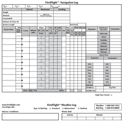flight log template sle flight plan template 9 free documents in pdf word