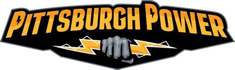 Logo Power Iron pittsburgh power 2011 2014 primary logo iron on stickers