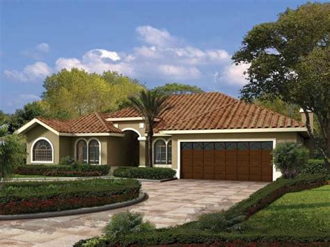 Single Story Mediterranean House Plans by Single Story Country House Single Story House
