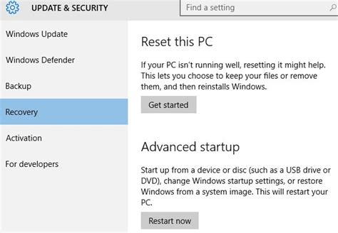 reset pc online how to restore windows to factory settings