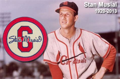 cardinals to wear stan musial memorial in 2013 chris