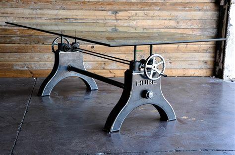 stuhl industrial look hure crank table vintage industrial furniture
