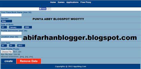 buat ktp twitter cara buat ktp facebook abby blogspot