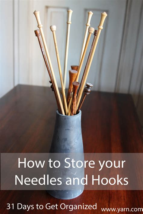 how to make knitting needles webs yarn store 187 31 days to get organized how to