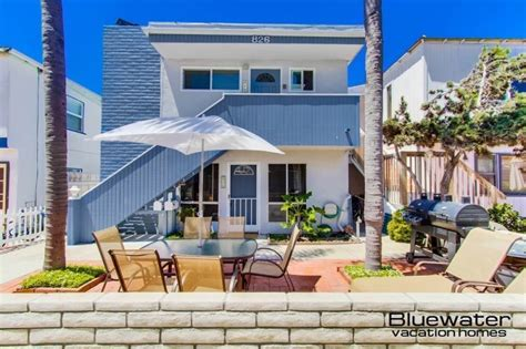 san diego beach house rentals san diego vacation rentals bay court i mission beach rental close to ocean