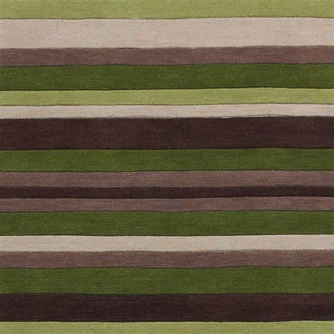 striped green rug green striped 100 acrylic rug large tufted hong kong mat modern design ebay