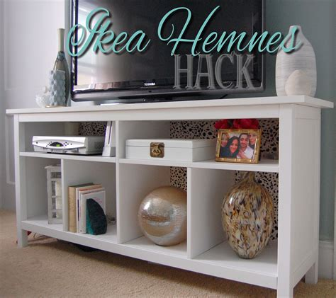 ikea hak ikea hemnes hack tv stand pretty cozy home pinterest