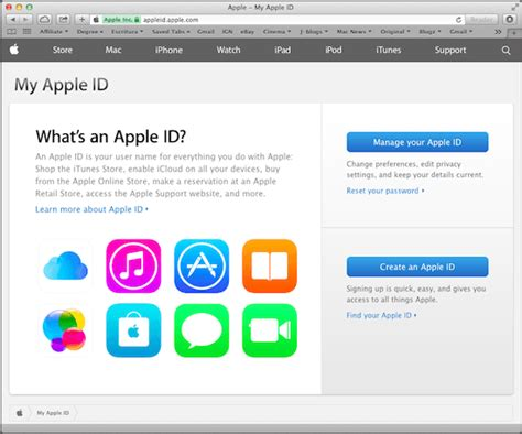 Apple Id Login | how to create app specific passwords for your apple id