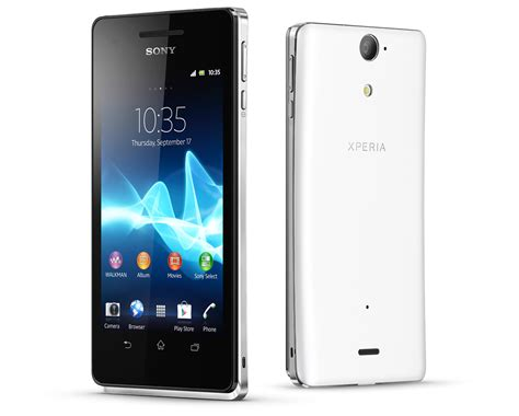 Hp Android Sony Xperia V sony xperia j and xperia v join 2012 smartphone line up eurodroid