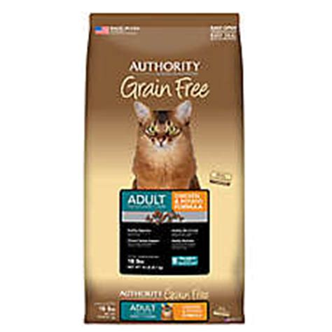 authority grain free food authority 174 grain free cat food chicken potato cat food petsmart