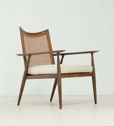 elegant armchair elegant paul mccobb armchair with cane backrest for sale