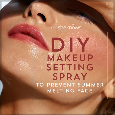 diy setting spray without glycerin diy makeup setting spray
