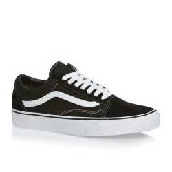 black vans shoes vans skool shoes black white