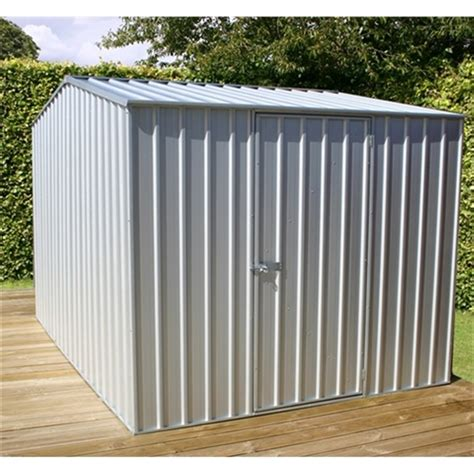 installed    premier zinc metal shed    includes installation shedsfirst