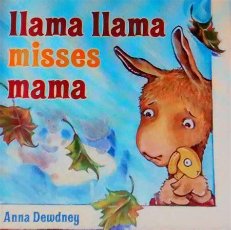 a for llama books books llama llama misses