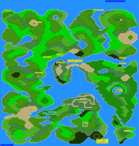 nes maps warrior map images