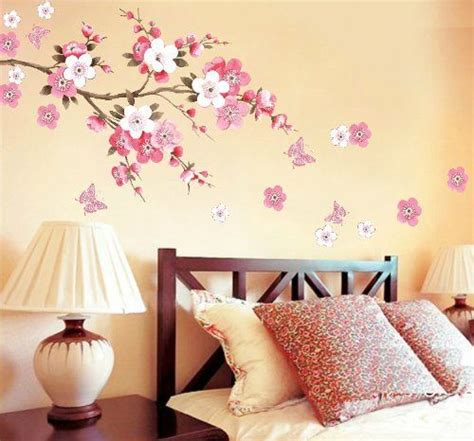blossoms bedroom wall decor removable decal sticker cherry blossoms tree branch by wall decor http www