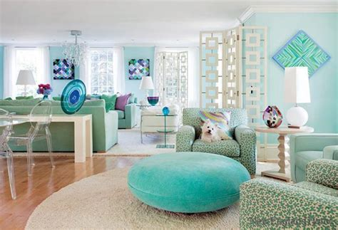 green and turquoise living room 3 blue and green color schemes creating spectacular interior design and decor