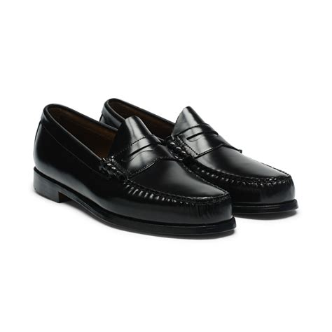 loafers club club monaco bass larson loafer in black for lyst