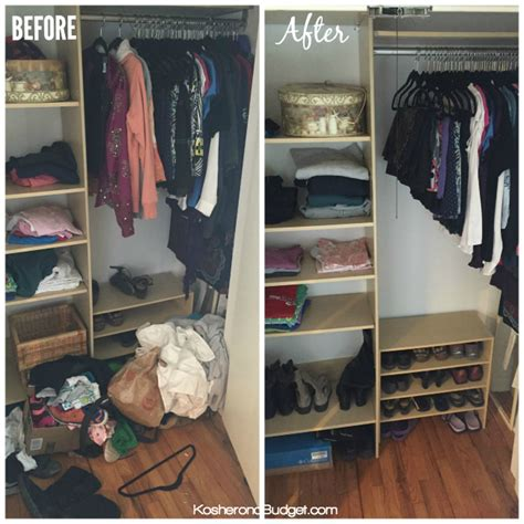 Closet Declutter by 31 Days Of Decluttering Pantry Storage