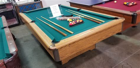 used pool table chairs used pool tables and other equipment kinneybilliards com