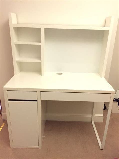 desk add on unit ikea white micke desk buy sale and trade ads great prices