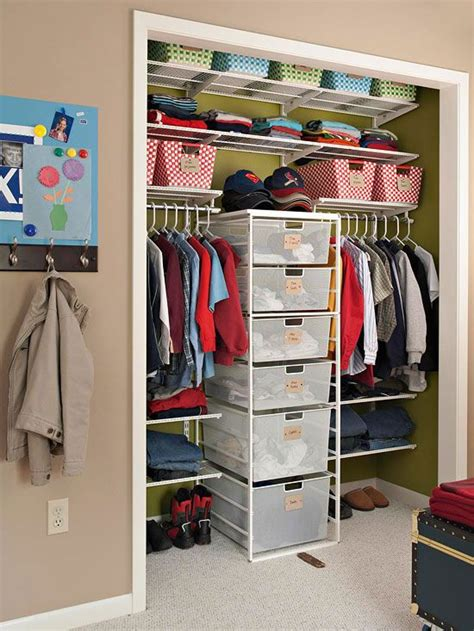 how to make your closet organized 37 smart and ways to organize your kids clothes