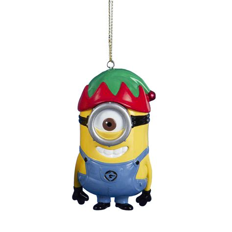 despicable me minion christmas ornament elf seasonal