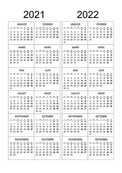 calendrier annuel   calendriersu