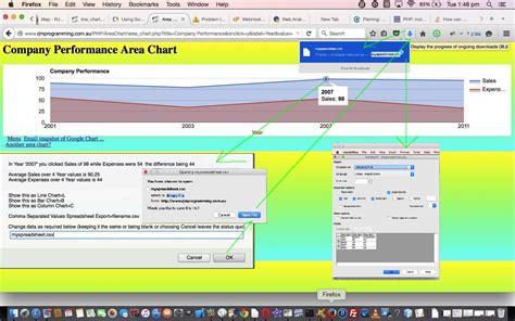 Spreadsheet Api Tutorial by Chart Select Event Spreadsheet Integration Tutorial