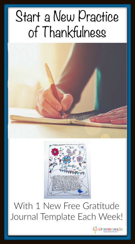 Free Gratitude Journal Template Plus Coloring Page Gratitude Journal Template
