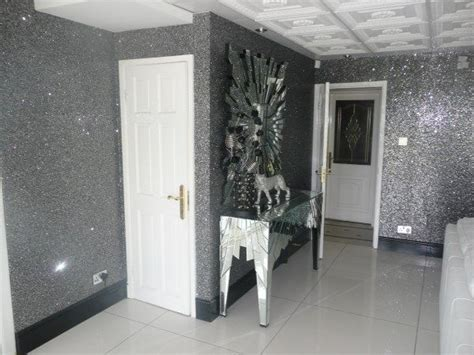 glitter wallpaper feature wall new glitterwall glitter wallpaper effect fabric for