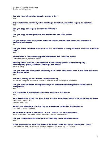 sap quotation layout sap sd sle questions