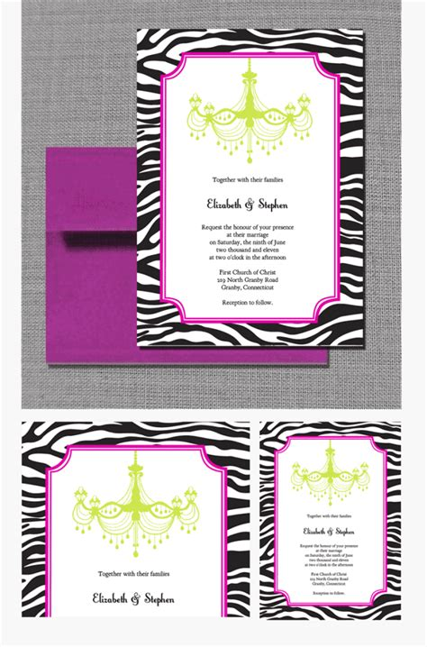 free zebra templates for invitations zebra chandelier wedding invitation wedding invitation