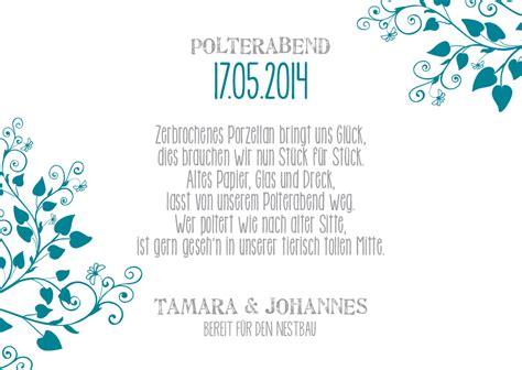 Polterabend Einladung by E B071 Einlagekarte Polterabend Lovebirds2 Jpg Jpeg