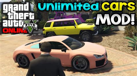 mod gta 5 pc download gta 5 pc mods garage expansion mod own unlimited cars
