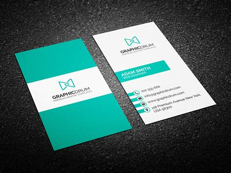 Business Card free clean business card design