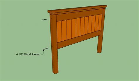 build king size headboard how to build a queen size bed frame howtospecialist