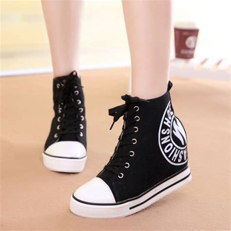 Boots Wedges Korea Style White the gallery for gt korean fashion shoes